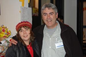 Me & Mr Tony Mack from Assitej australia