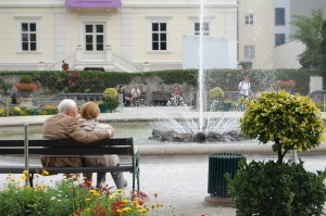 Love at the fountain